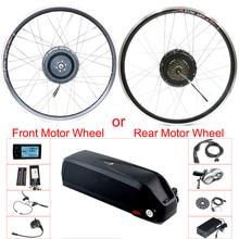 eBIKE Conversion Kit 48v 500w Front/Rear Hub Motor Wheel Electric Bicycle Conversion Kit 20