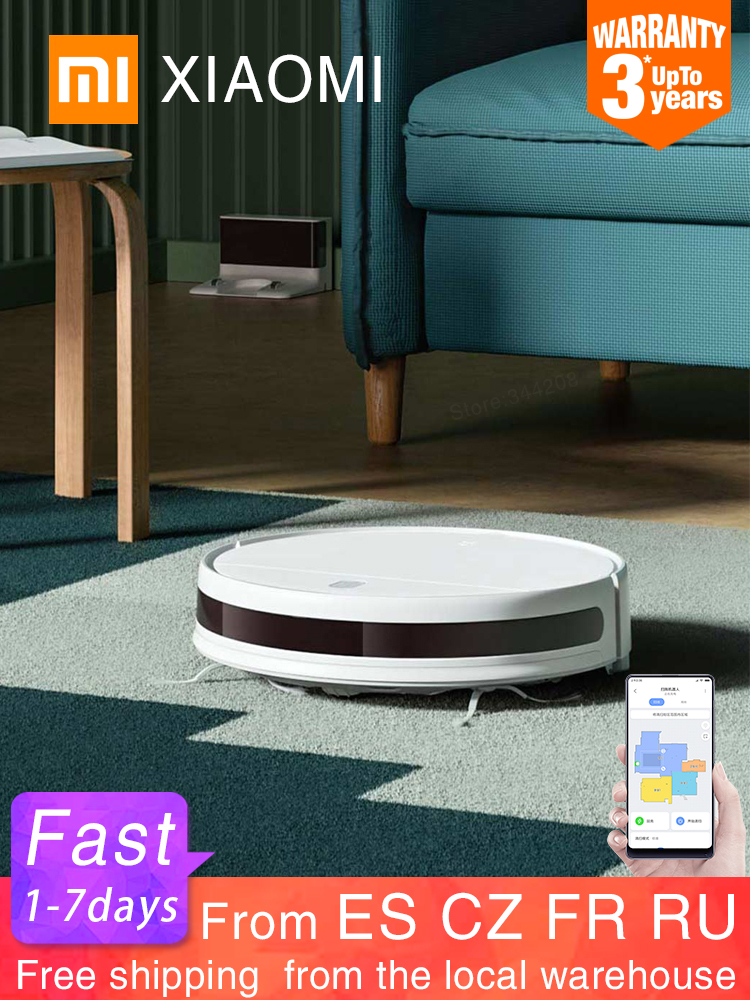 XIAOMI Vacuum-Cleaner Mopping-Robot Cyclone-Suction Washing WIFI Cordless G1 Smart Home
