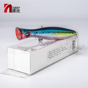 Image 5 - NOEBY Fishing Lure Popper sea tuna lure 120mm/160mm Topwater Hard Bait Iscas Artificiais Leurre De Peche Wobbler fishing tackle