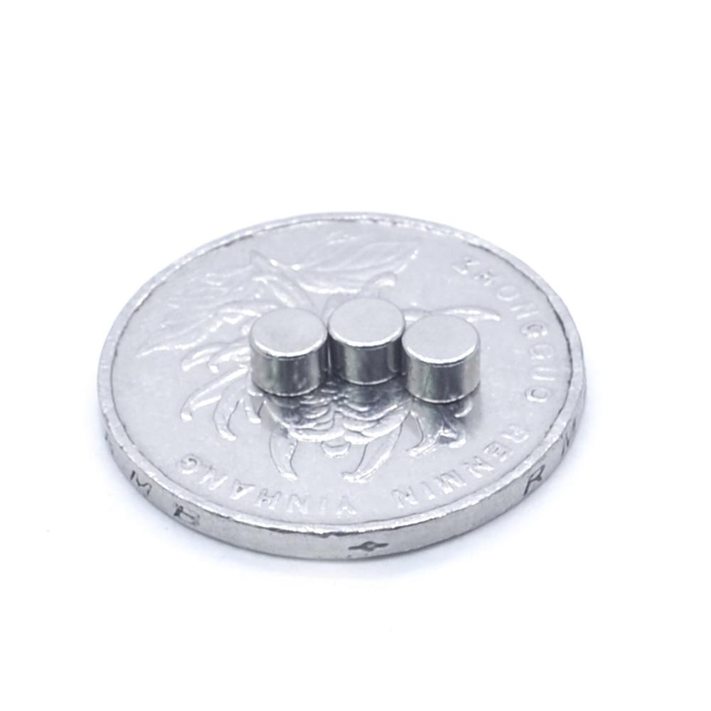 5000pcs Neodymium N35 Dia 4mm X 3mm Strong Magnets Tiny Disc NdFeB Rare Earth For Crafts Models Fridge Sticking magnet 4x3mm - 4