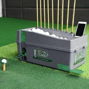 Image 1 - Multifunzionale Pallina Da Golf Automatico Server Pitching Macchina Robot Altalena Allenatore Può Contenere 60 100 Palle E 9 Golf Aste telaio Pole