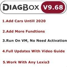 Diagbox V 9,68 V 8,55 V 7,83 Volle Update Für Lexia3 PP2000 Lexia 3 Diagbox 9,68 Für Citroen/Peogeot Gemacht Auto diagnose Werkzeug Bis 2020