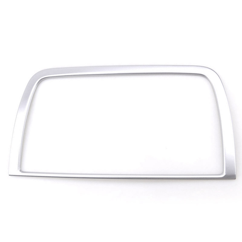 Chrome Interior Dashboard Center Control Navi Screen Cover for <font><b>Mazda</b></font> Cx-5 <font><b>Cx5</b></font> Ke 2012 2013 2014 <font><b>2015</b></font> <font><b>2016</b></font> Trim Frame Decoration image