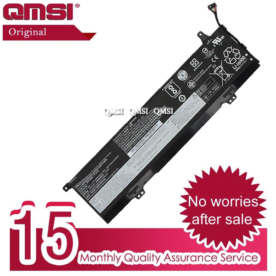 Аккумулятор QMSI L17L3PE0 L17C3PE0, 11,4 Вт · ч, 4520 мАч, подходит для ноутбука Lenovo Yoga 730-15IKB Yoga 730-15IWL