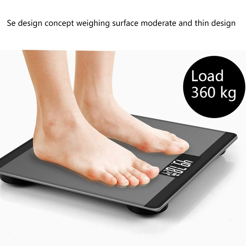 Gold Digital Body Axunge Electronic Scale LCD Display Human Health Management Called Smart Balance Electronic Scale|Bathroom Scales| |  - title=