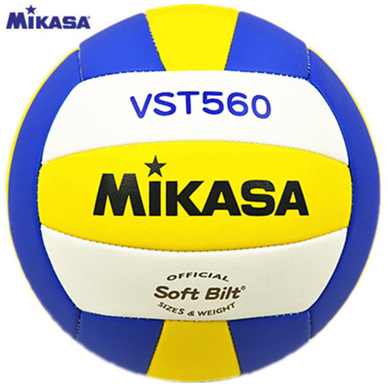 Original Japan MIKASA Volleyball VST560 Size 5 PU Fabric Professional Competition Student Training Volleyball