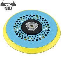 DANIU 6 дюймов 150 мм многофункциональная шлифовальная наждачная бумага для полирования дисков шлифовальная подложка шлифовальная Подушка абразивный инструмент