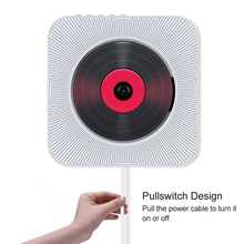 U Disk Music Player Wall Mounted CD Player Bluetooth Speakers Pull Switch With Remote Hifi Speaker USB Drive Player Headphone