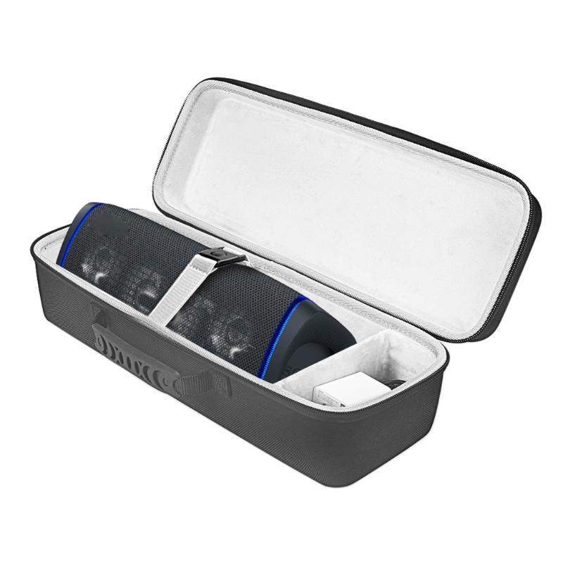 Quadrado à prova de choque capa dura saco de proteção para-sony SRS-XB43 extra bass sem fio bluetooth alto-falante e accessorydropship