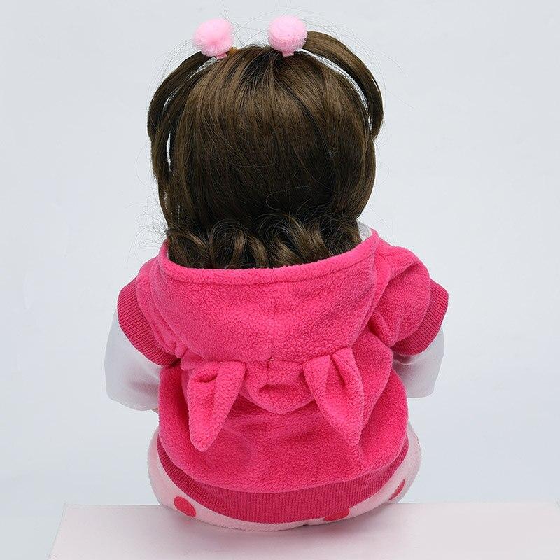 novo estilo boneca renascer 48cm realista bebe 05