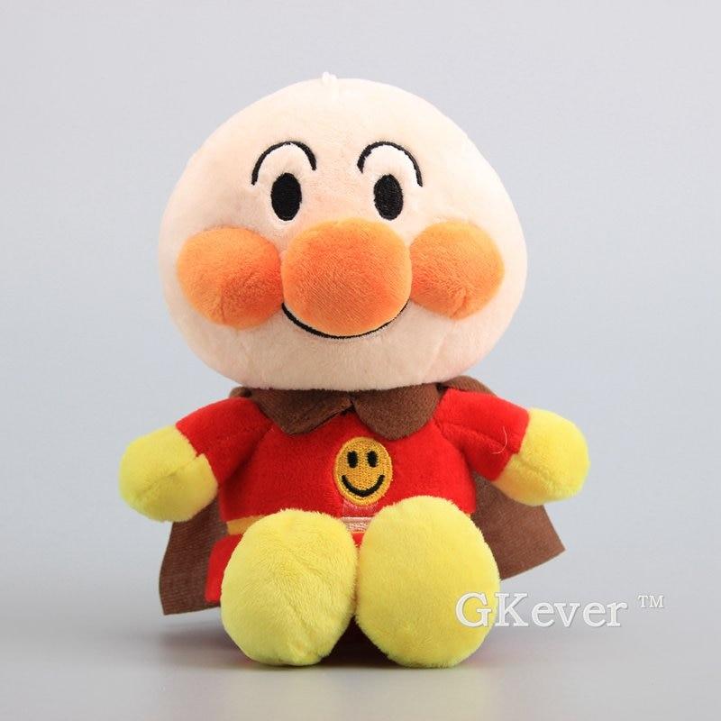 22 cm Anime Anpanman peluş oyuncaklar bebek Peluche yeni gelenler süper adam dolması hayvanlar oyuncaklar kadın çocuklar için doğum günü hediyesi