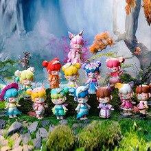 Model Blind-Box Fairy-Figure-Doll Surprise Anime Toys Girls Little Cute Elf Car-Ornaments