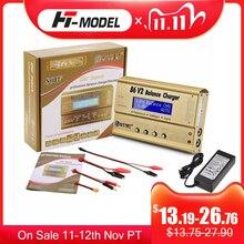 HTRC Imax B6 V2 80W 6A RC Balance Caricabatterie Per LiIon//LiFe/NiCd/NiMH/Alta batteria di alimentazione di LiHV 15V 6A AC Adapter IMAX Caricatore