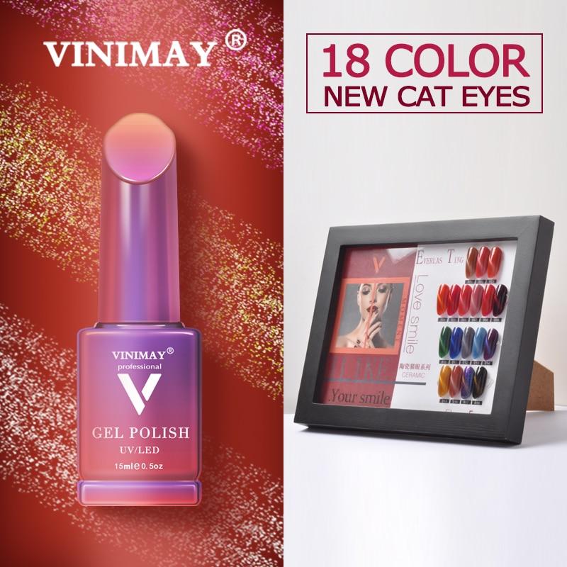 VINIMAY Gel Nail Polish vernis semi permanant UV Soak Off Gelpolish Nail Art Gel Varnish Primer Manicure Nails Gel Lacque-in Nail Gel from Beauty & Health