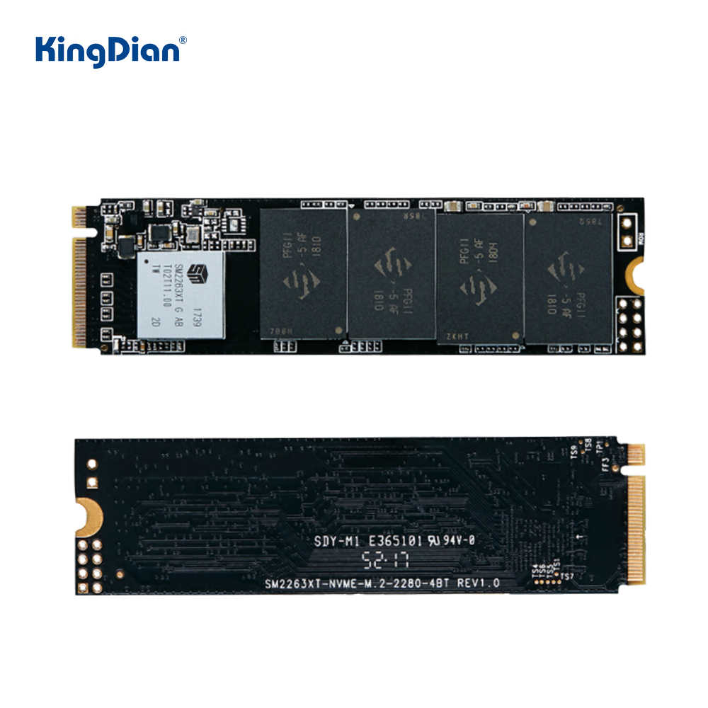 KingDian M.2 Nvme SSD 512GB 1TB M2 SSD 128GB 256GB Pcieฮาร์ดดิสก์Solid Stateภายในไดรฟ์สำหรับแล็ปท็อปDesktop PC