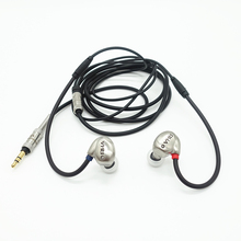 RHAT20 Dual Unit Headset Hi Res Dynamic Hifi in Ear Metal Noise Isolating Headphone Ear Hook Earphone