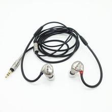 RHAT20 double unité casque hi res dynamique Hifi dans loreille métal isolation du bruit casque oreille crochet écouteur
