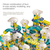 86-344 Pcs Large Particle Macaron Color Variable Slide Ball Building Block Sets Creative Diy Bricks Educational Toys For Kids
