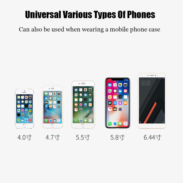 Universal Gravity Car phone Holder Car Air Vent Mount Phone Holder For iPhone 8 XS Max Samsung Xiaomi Mobile Phone Holder Stand 5