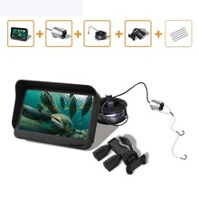 30M Fish Finder Underwater Ice Fishing Camera 4.3 LCD Monitor 6PCS LED Night Vision For