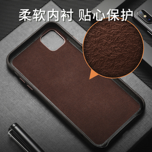 Image 5 - For iphone 11 11 Pro Leather Case 100% Original Duzhi Brand Genuine Cattle Leather Case For iphone 11 pro max leather case