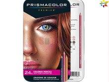 Eua prismacolor premier 48 72 150 lapis de cor pintura lápis cor retrato óleo da pele crayon artiste crianças sanford macio lápis
