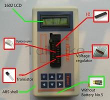 Geïntegreerde Circuit Tester Ic Tester Transistor Online Onderhoud Digitale Led Transistor Ic Tester
