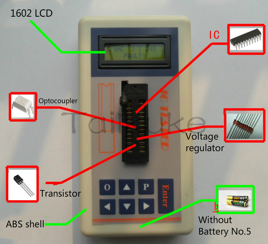 IC Tester IC Tester Transistor Integrated Circuit IC Tester