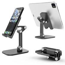 Tablet Ständer Desktop-Halter Halterung Für iPad Pro Air Mini 2020 10 11 9,7 Zoll iPhone 12 XR XS Samsung xiaomi Mipad Huawei Kindle