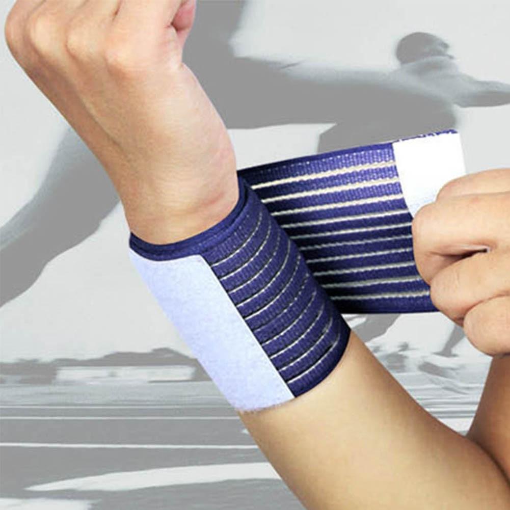 Soft Wristband Sweatband Outdoor Sports Elastic Wrist Band Tennis Basketball Hot Outdoor Sport Elastic Bandage Hand