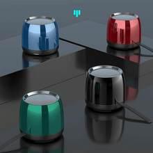 Portátil bluetooth alto-falante mini sem fio subwoofer estéreo microfone de cancelamento suporte bluetooth 5.0 tf reprodução