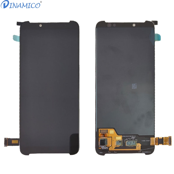 Image 2 - Dinamico For Xiaomi Black Shark 2 Lcd Display Screen +Touch Glass Digitizer Assembly Replacement Parts Black Shark Helo Lcd-in Mobile Phone LCD Screens from Cellphones & Telecommunications
