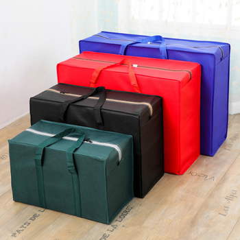 Extra Large Luggage Bags Non-Woven Fabric Storage Bags Students Dormistory Storage Bag Moisture Proof Bag Clothes Toys Organizer