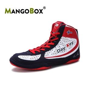 Zapatos de boxeo Unisex para hombre y mujer, bota de lucha de diseñador, bota de boxeo antideslizante, 2020