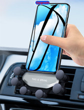 Upgraded mobile phone brack Universal  Car Bracket for Mobile Phone Vehicle Vent Without Magnetic Gravity