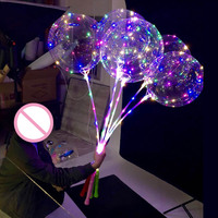 50pcs Helium white led balloon light balloons party decorations kids birthday wedding Decor Supplies 20inch ballon