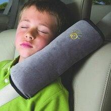 Детская подушка, детские автомобильные подушки, авто Безопасность, ремень безопасности, плечевая подушка, ремень колодки, защита, поддержка, подушка для детей, малышей