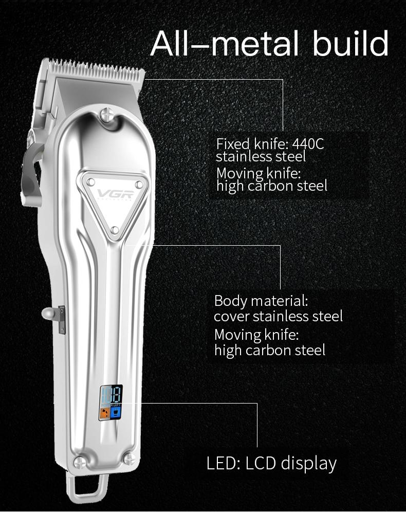 cabelo sem fio máquina de barbear barba