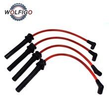 WOLFIGO набор кабелей зажигания для гонок, 4 шт., 10,2 мм, 1,6 л, для BMW Mini Cooper 2002 2003 2004 2005 2006