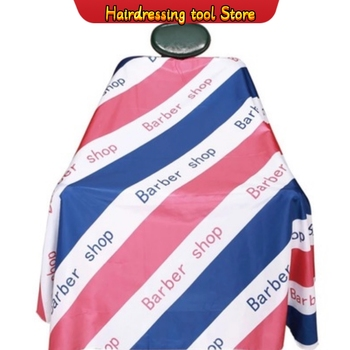 Cutting Hair Waterproof Cloth Haircut Salon Barber Capes Hairdressing Hairdresser Apron Wrap Gown Haircut Capes Barber Supplies 1 pcs random color best new sketch hair salon cutting barber hairdressing cape for haircut hairdresser apron cutting hair capes
