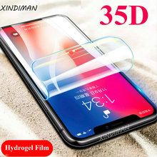 35D Front+Back Hydrogel film for iphone6 6s 6plus soft screen protector iphone7 7plus 8 8plus X XS XR XSMAX protective-Film