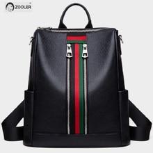 2019 Soft Leather bag backpack girls COW leather backpacks elegant soft school travel tote bags high quality Bolsas#LT282