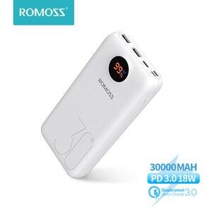 Image 1 - Портативный внешний аккумулятор ROMOSS SW30 Pro, 30000 мАч, 26800 мАч