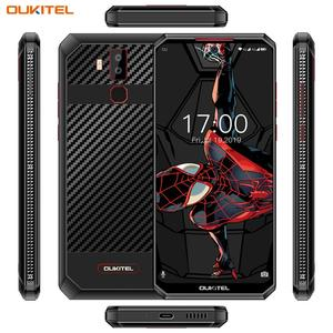 "Image 5 - OUKITEL K13Pro K13 Pro Android 9.0มาร์ทโฟน6.41 ""โทรศัพท์มือถือ4G LTE 4GB 64G ROM MT6762 11000MAh 5V/6A Quick Chargeโทรศัพท์มือถือ"