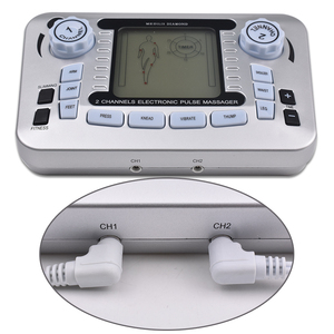 Image 4 - Electrical Nerve Relax Muscle Stimulator Acupuncture Fat Burner Pain Relief Electronic Pulse Massager Tens EMS Slimming Machine