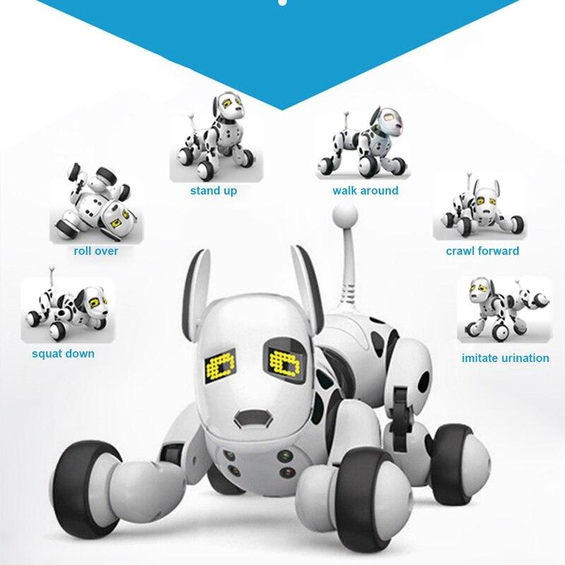 Smart Robot perro 2,4G Control remoto inalámbrico niños juguete Robot que habla inteligente perro juguete electrónico mascota regalo de cumpleaños - 5