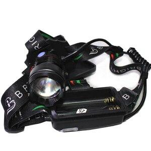 Image 3 - Xhp90.2 Led كشافات المصباح أقوى 32 واط 4291lm رئيس مصباح التكبير قوة البنك 7800 مللي أمبير 18650 بطارية