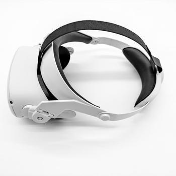 Регулируема лента GOMRVR за Oculus Quest 2 VR, увеличава поддръжката и подобрява комфорта - достъп до виртуална реалност