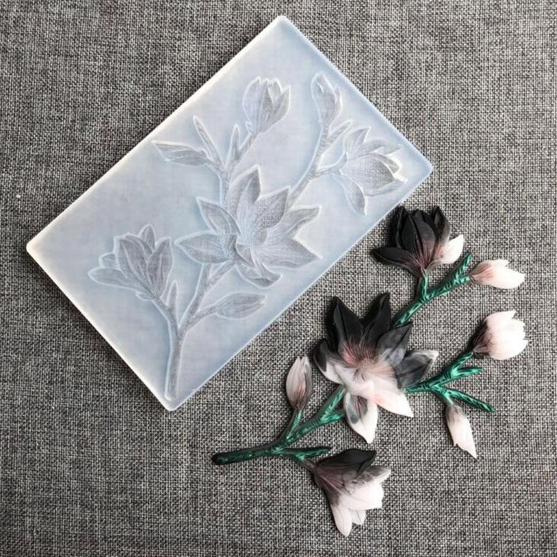 Большая 19 см винтажная Цветочная эпоксидная смола силиконовая форма мягкая глина Cemento штукатурка бетонные формы Forma De силиконовая 3d настенная панель|Глиняные формы|   | АлиЭкспресс