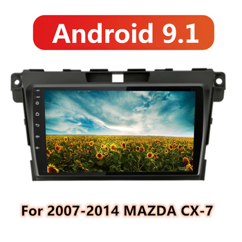 Android 9.1 For MAZDA CX-7 CX7 CX 7 2008 2009 2010 2011 2012-2015 Multimedia Stereo Car DVD Player Navigation GPS Radio image